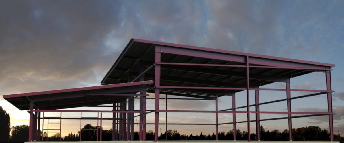 Steel Building Erection Conroe
