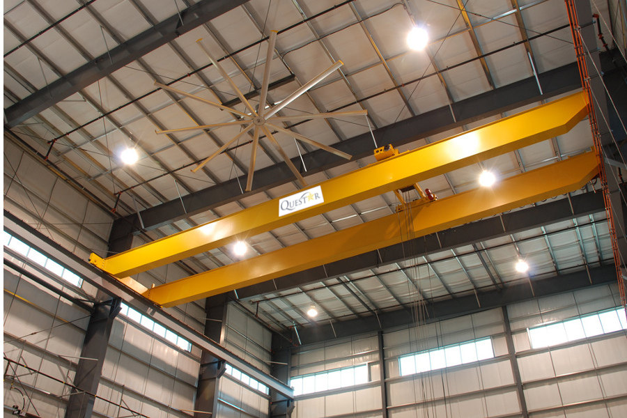 Houston Steel Construction - Metal Crane Building